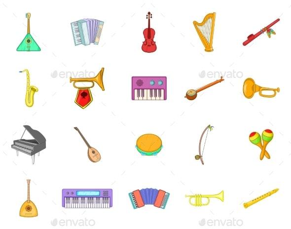 Musical Instrument Icon Set - Miscellaneous Vectors
