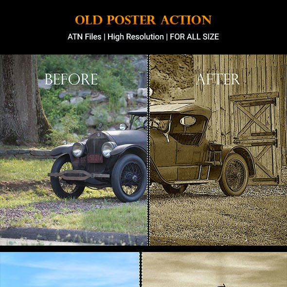 Old Poster Actions