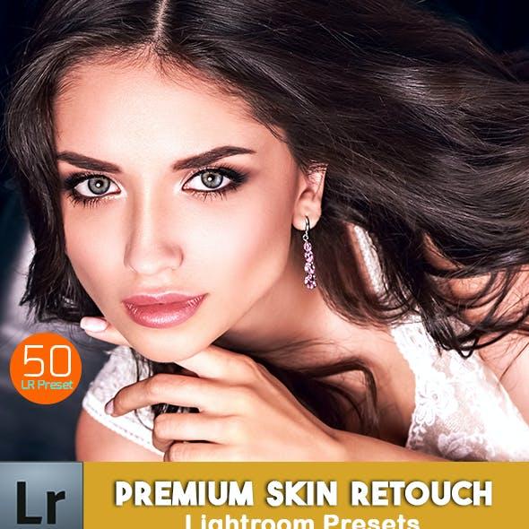 50 Premium Skin Re-Touch Lightroom Preset