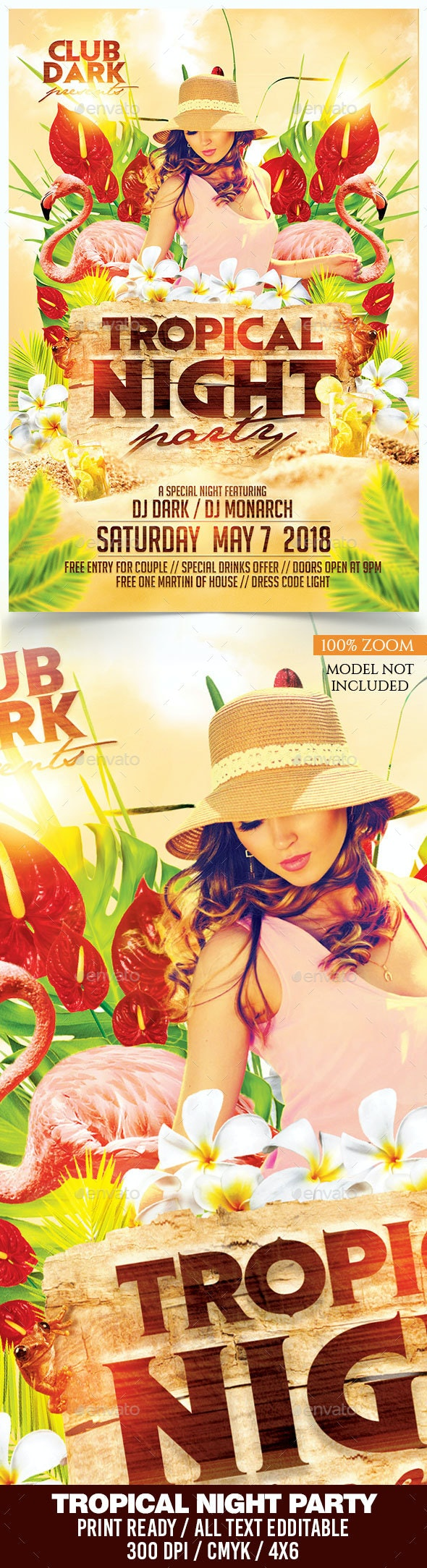 Tropical Night Party - Clubs & Parties Events