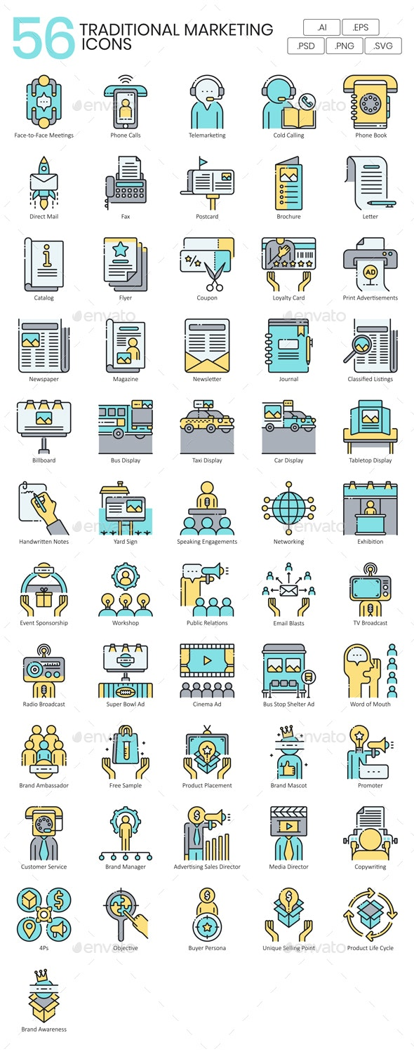 Marketing Icons - Business Icons