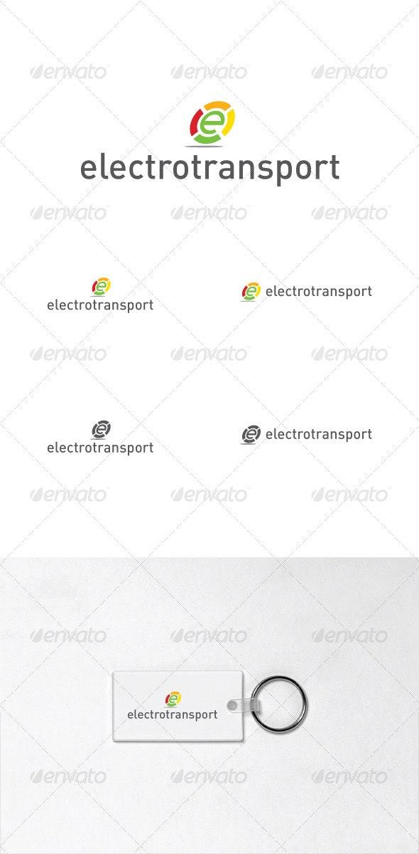 "Logo ""electrotransport"" - Objects Logo Templates"