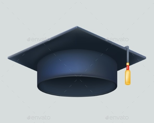 Graduation Cap - Man-made Objects Objects