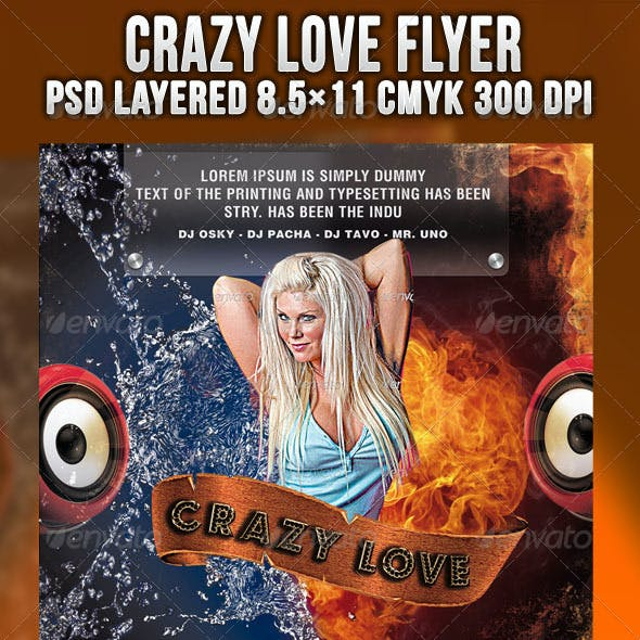 Crazy Love Flyer