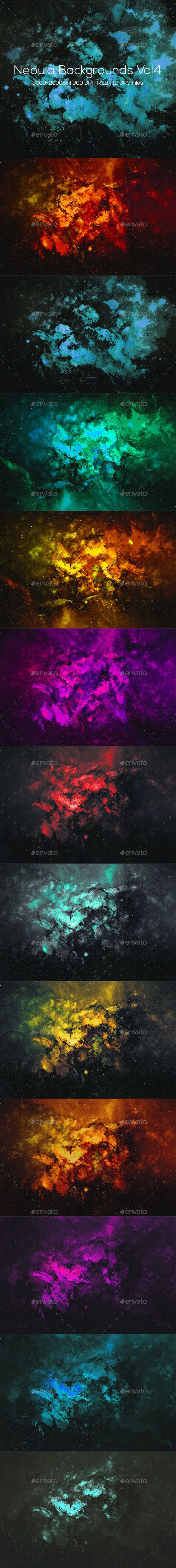 Nebula Backgrounds Vol4 - Abstract Backgrounds