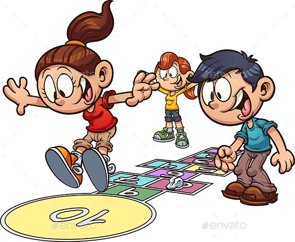Hopscotch Kids - People Characters