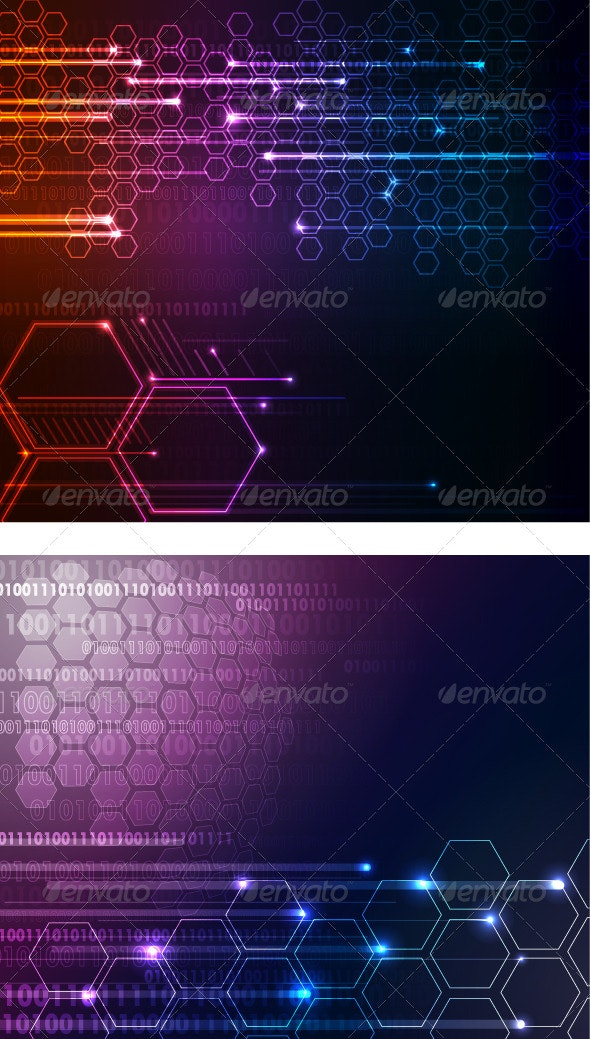 Technology abstract background - Backgrounds Decorative
