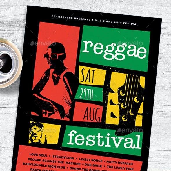 Reggae Flyer / Poster
