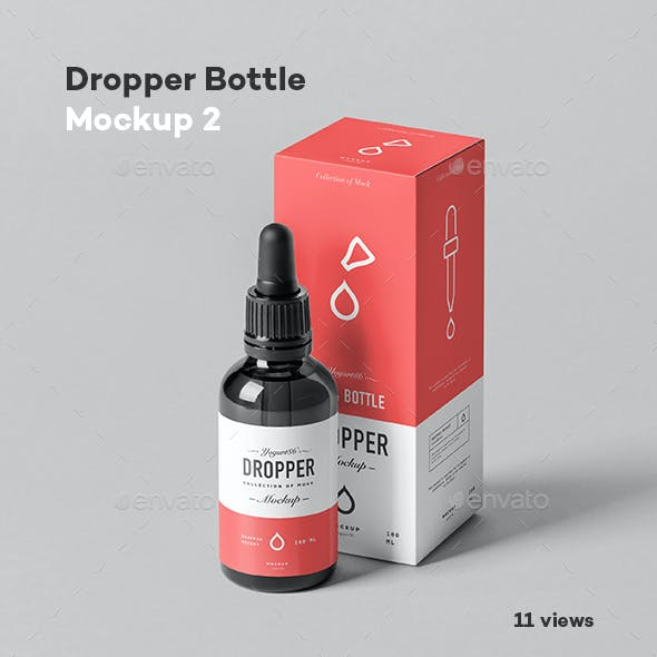 Dropper Bottle Mock-up 2