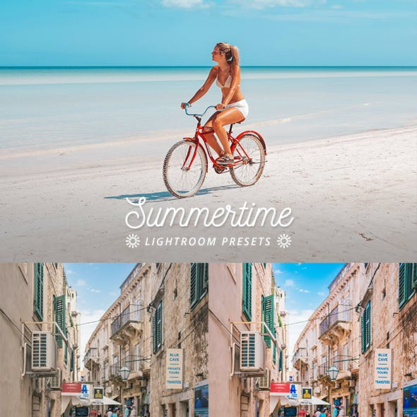 16 Summertime Lightroom Presets