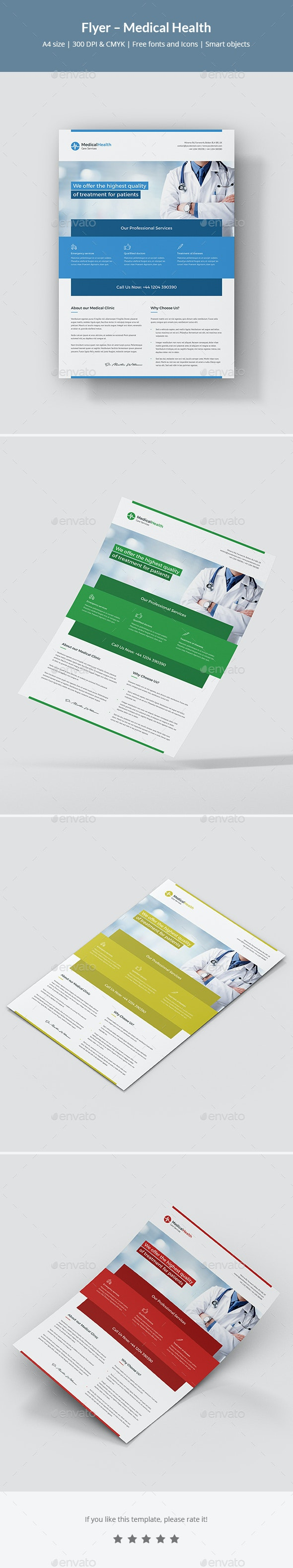 Flyer – Medical Health - Corporate Flyers