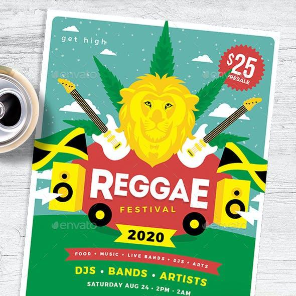 Reggae Festival Flyer / Poster