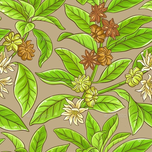 Anise Vector Pattern