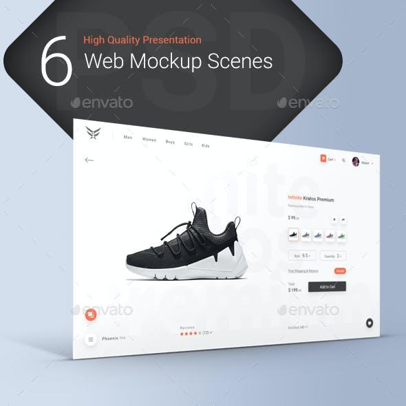 Web Presentation Mockups Vol.1