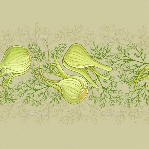 Fennel Vector Pattern