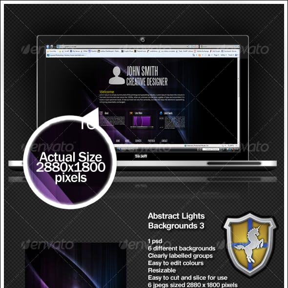 Abstract Lights Background Pack 3