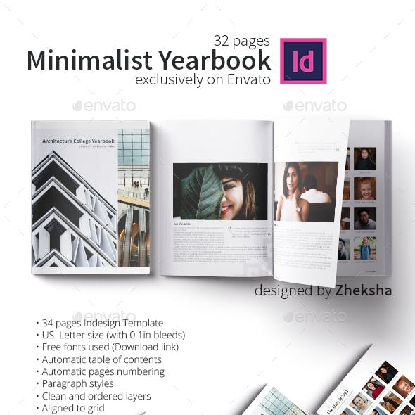 Minimalist Yearbook