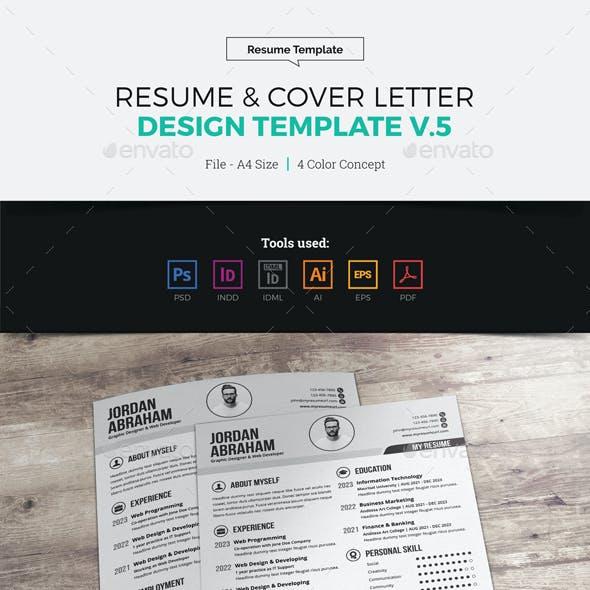 Resume & Cover Letter Design v5