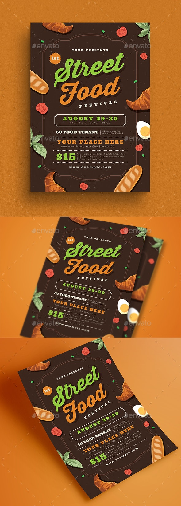 Street Food Event Flyer - Events Flyers