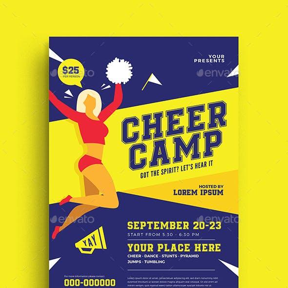 Cheer Camp Flyer