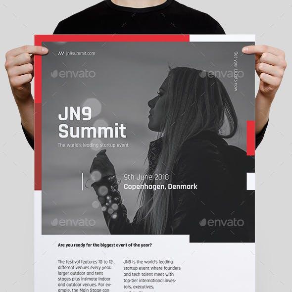 JN9 Summit Poster/Flyer Template