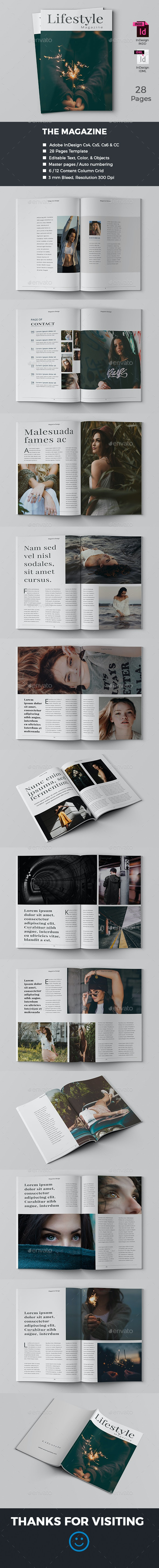 Indesign Magazine - Magazines Print Templates