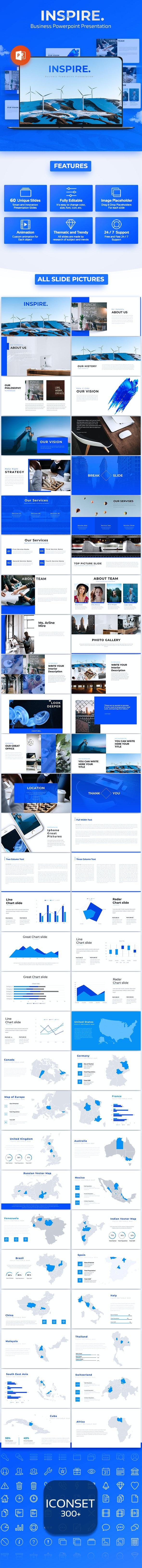 Inspire - Business Powerpoint Presentation - PowerPoint Templates Presentation Templates