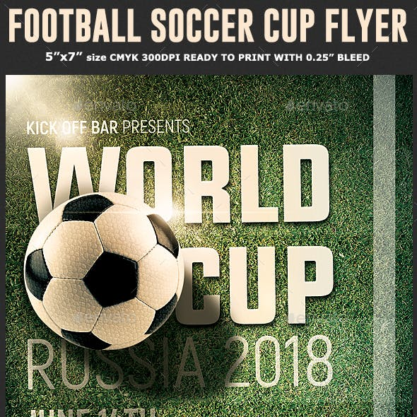 Soccer World Cup Flyer Template