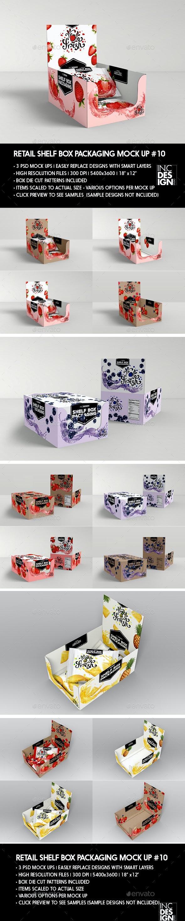Retail Shelf Box Packaging MockUp No.10 - Miscellaneous Packaging