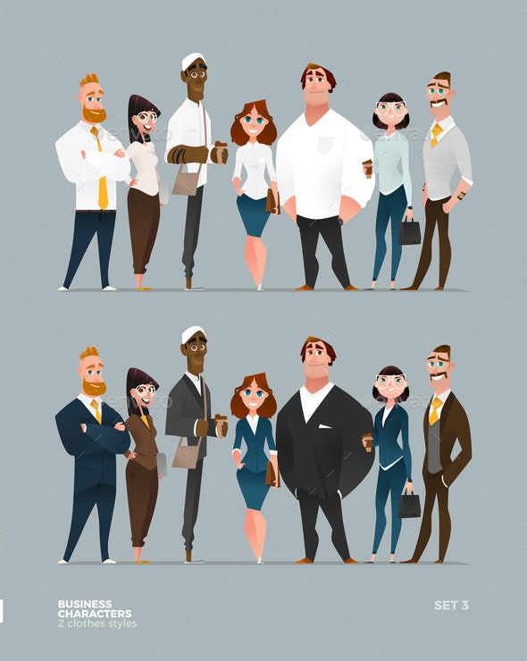 Business Characters Collection - People Characters