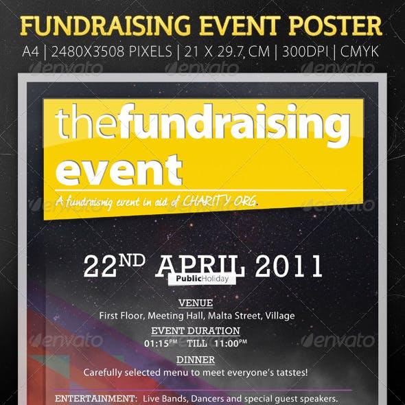 Modern Flyer For Fundraising Event
