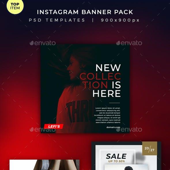 Instagram Banner Pack