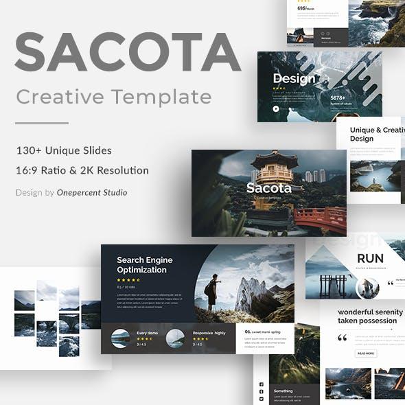 Sacota Creative Powerpoint Template