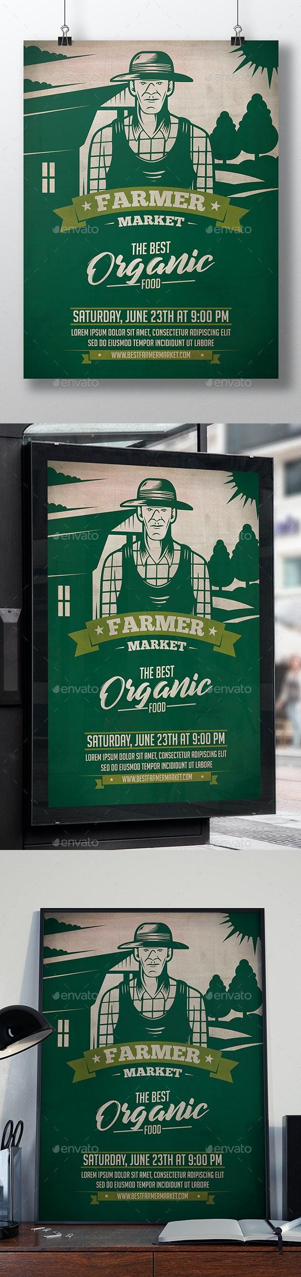 Farmer Market Flyer Template - Events Flyers