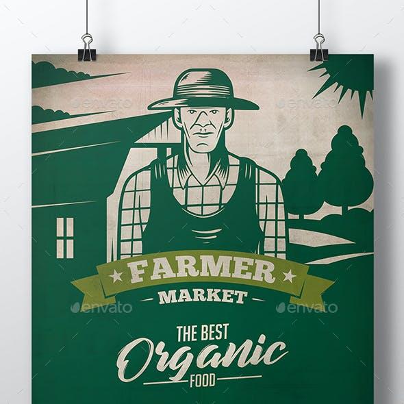 Farmer Market Flyer Template