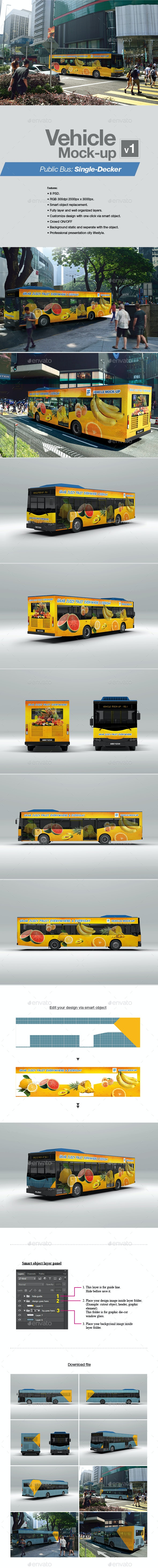 Vehicle Mock-up v1 by kenoric | GraphicRiver