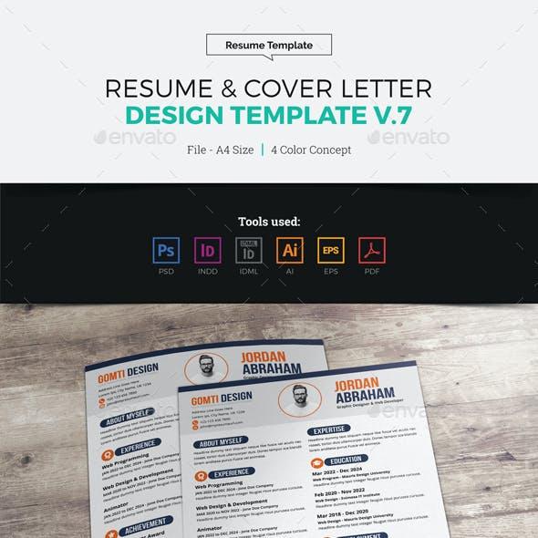 Resume & Cover Letter Design v7