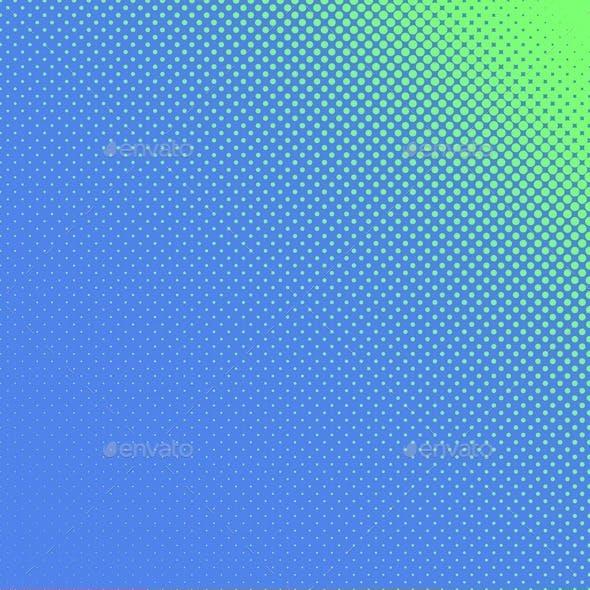 48 Halftone Dot Backgrounds