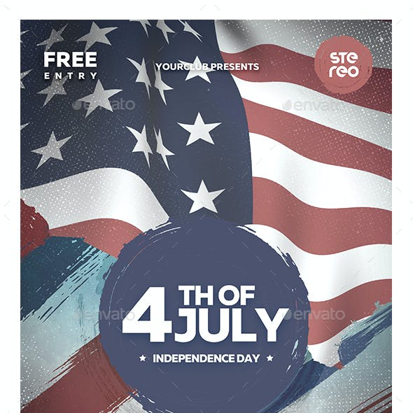4th of July USA Flyer