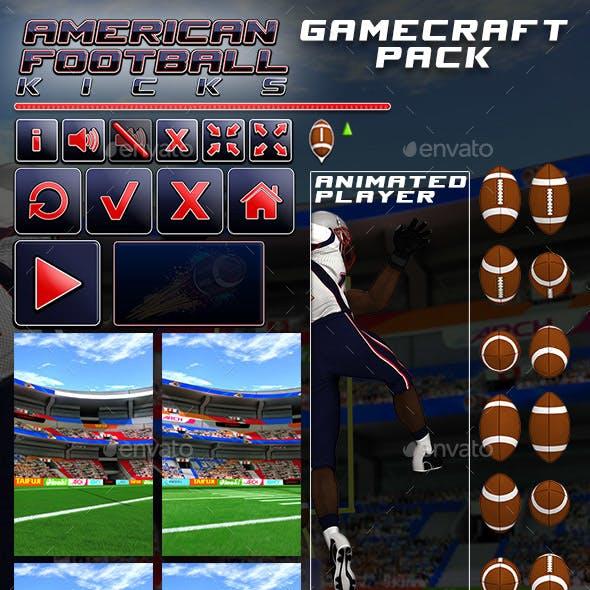 American Football Kicks - Game Assets