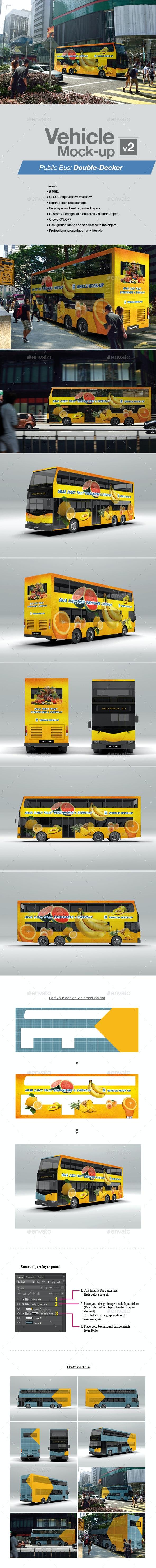 Vehicle Mock-up v2 - Vehicle Wraps Print