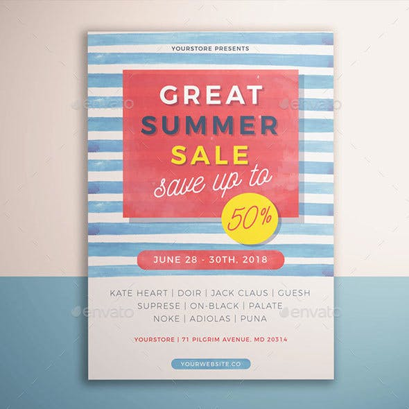 Summer Sale Flyer Vol. 02