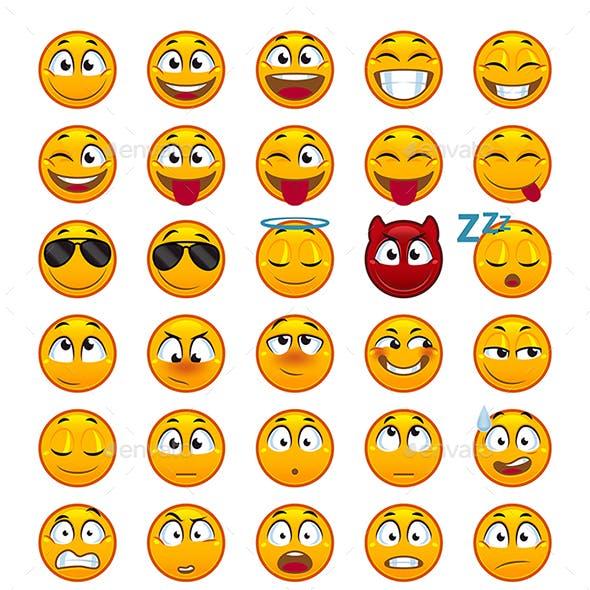 55 Emojis Pack 1