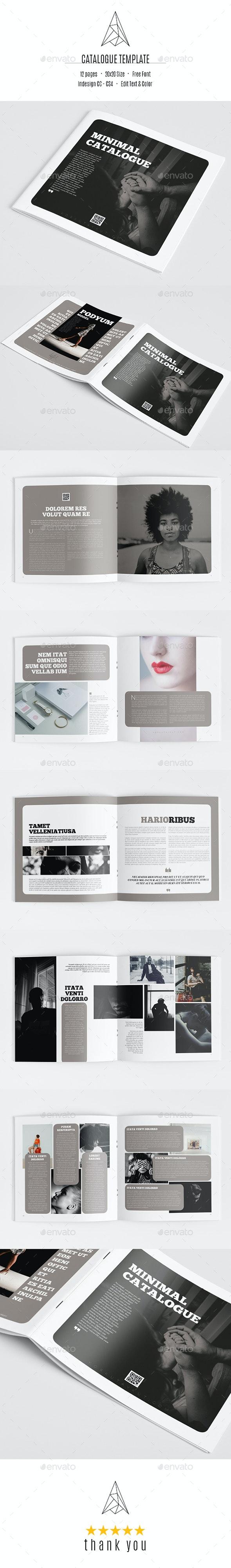 Minimal Catalog - Catalogs Brochures
