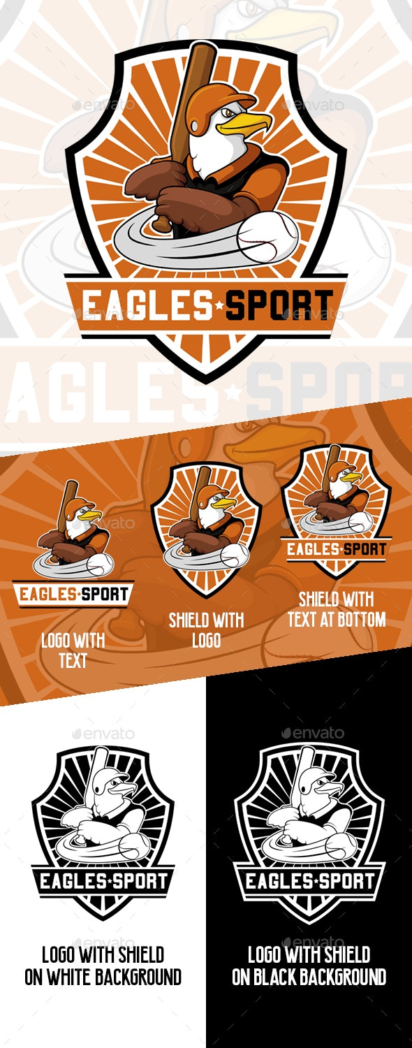 Eagles Sport - Baseball Team Logo - Baseball Sports