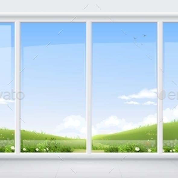 Room with Panoramic Window