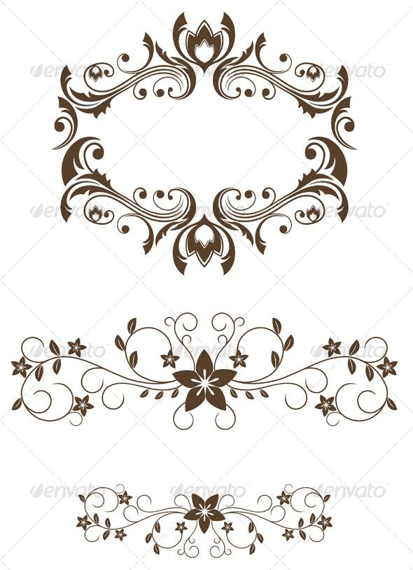 Vintage decorations - Decorative Vectors