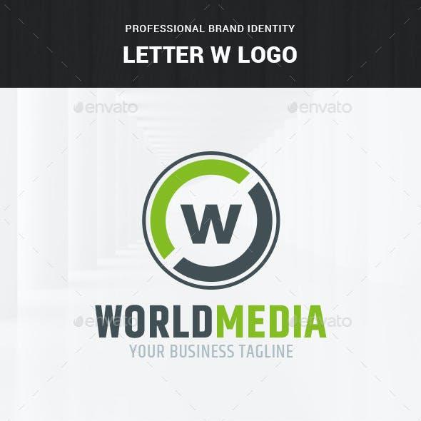Letter W Logo Template
