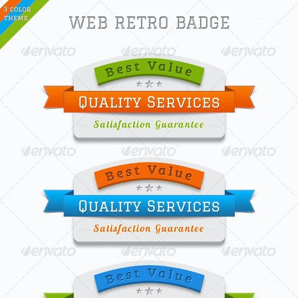 Web Badges