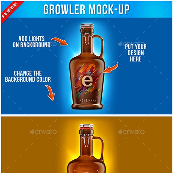 Growler Mock-up